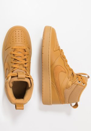 COURT BOROUGH MID  - Sneakersy wysokie - wheat/medium brown