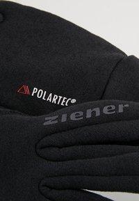 Ziener - IDIWOOL TOUCH GLOVE MULTISPORT - Fingervantar - black - 4