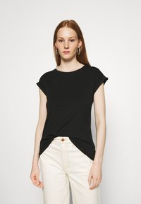 Dorothy Perkins - ROLL SLEEVE TEE 3 PACK - T-shirts - blue - 4