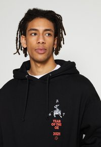 HUF - YEAR OF THE OX HOODIE - Sweatshirts - black - 6