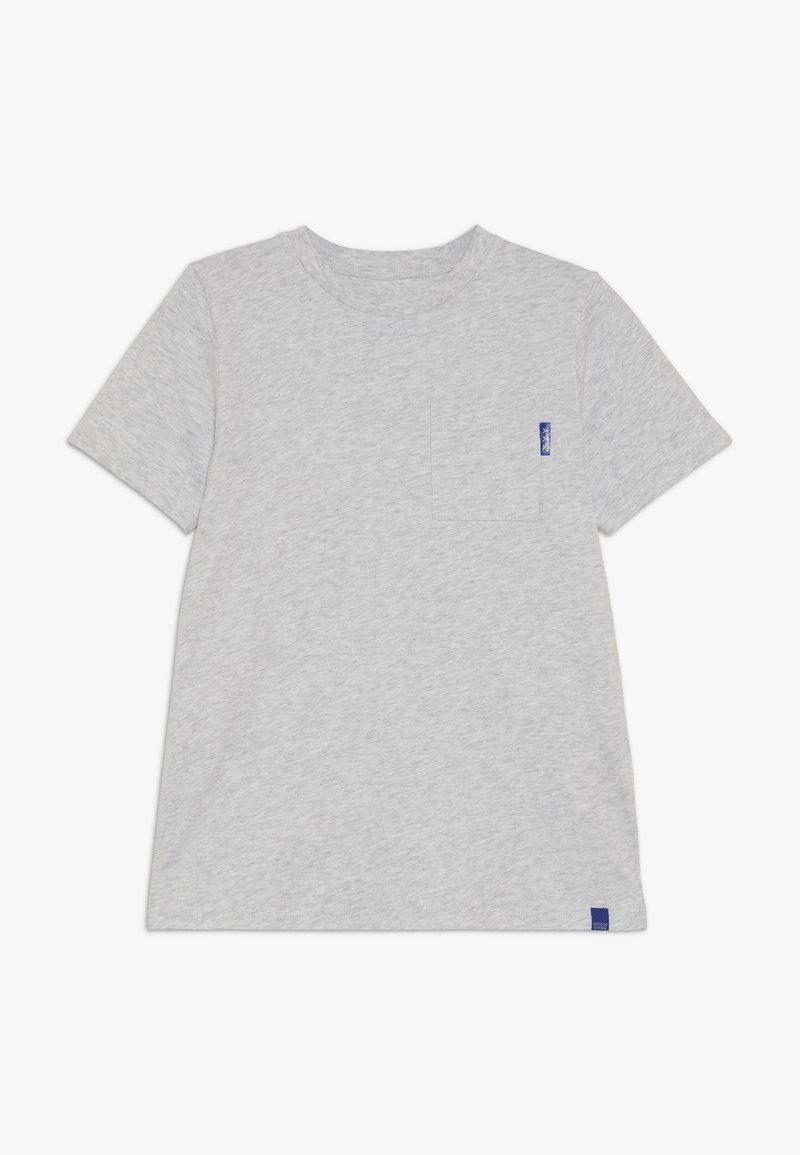 Scotch & Soda - CLASSIC POCKET TEE - T-shirt basic - grey melange