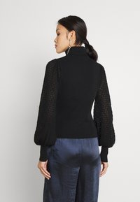 Fashion Union - HARDY - Stickad tröja - black - 2