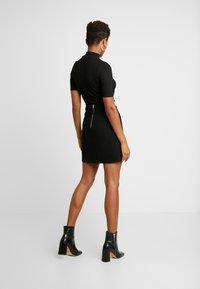 Morgan - JELLY - Áčková sukně - noir - 2