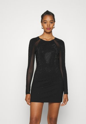 D-BRILLA DRESS - Jersey dress - black