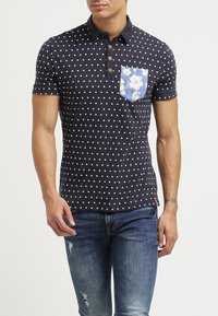 French Kick - POINT2 - Polo - blue navy - 1