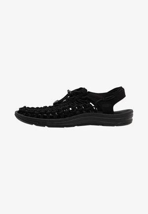 UNEEK - Chodecké sandály - black/black