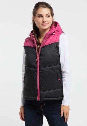 Liivi - pink/black