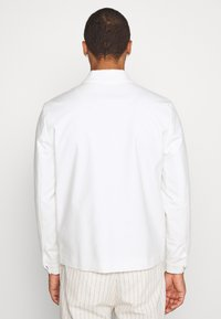 Topman - SMART SHACKET - Summer jacket - white - 2