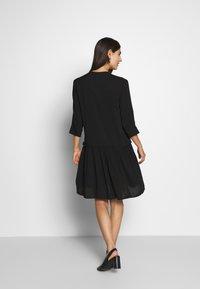 Soyaconcept - RADIA - Shirt dress - black - 2