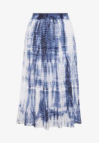 Yours Clothing - Pleated skirt - blue - 2