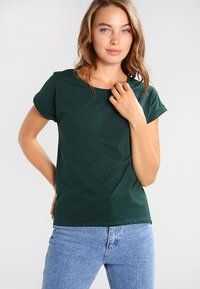 Vila - VIDREAMERS PURE  - Basic T-shirt - pine grove - 0