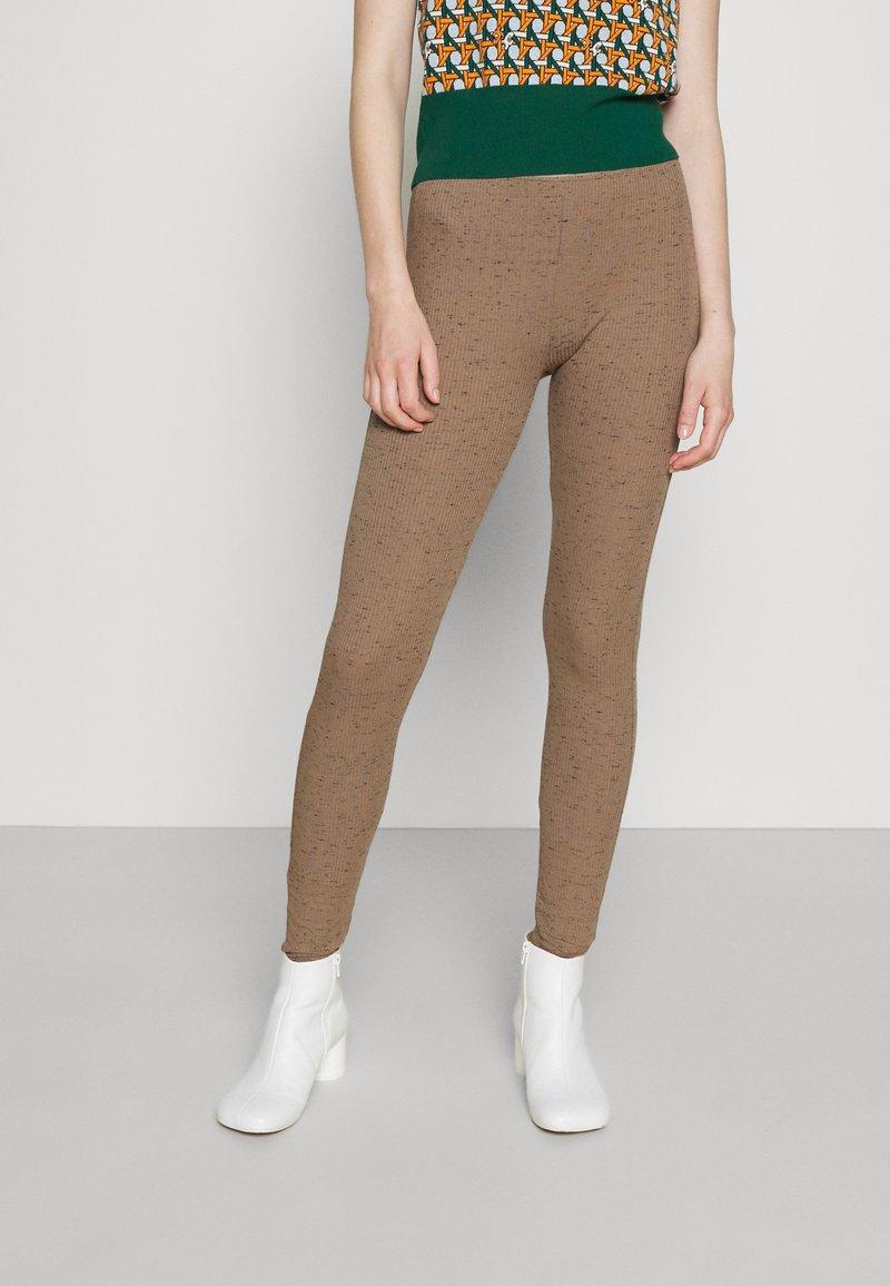 By Malene Birger - NIMBI - Leggings - Trousers - clay