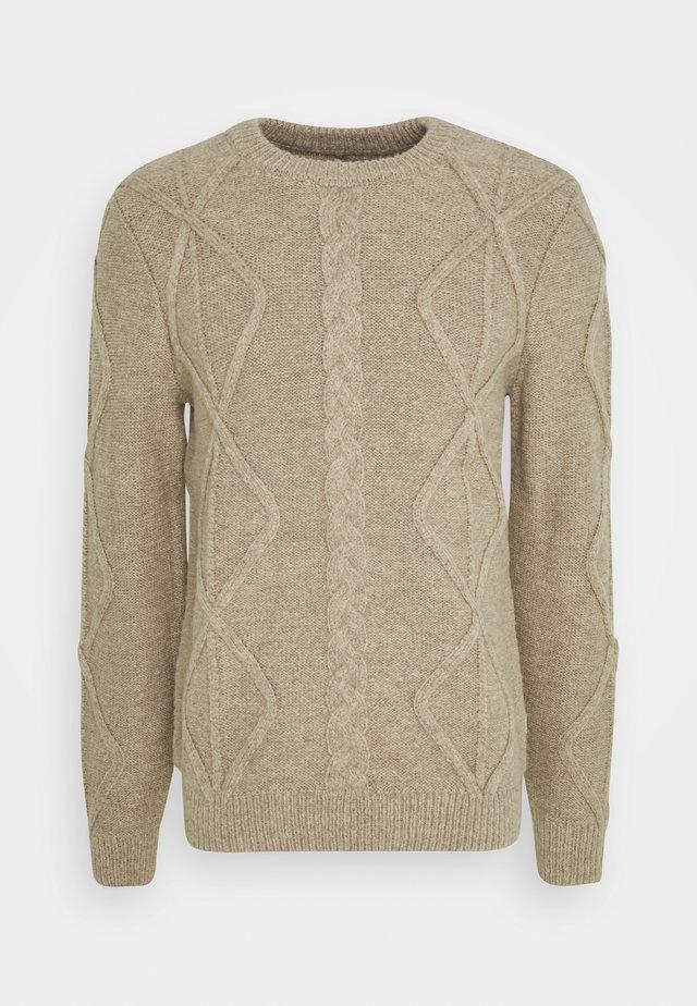 KARL CREW NECK - Pullover - silver mink