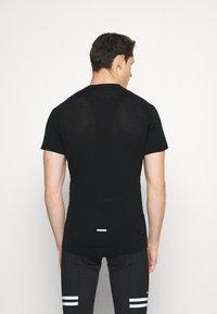 Mons Royale - TEMPLE TECH  - T-shirt basic - black - 2