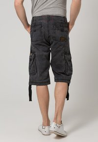 Alpha Industries - JET - Cargo trousers - black camo - 3