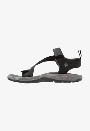 WAVE TRAIN - Outdoorsandalen - black/city grey