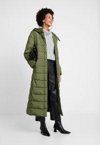 Esprit - Vinterkåpe / -frakk - khaki green - 1