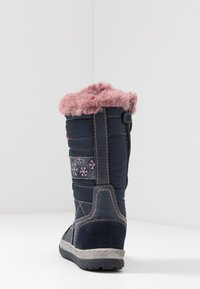 Lurchi - ALPY-TEX - Winter boots - navy/rose - 4