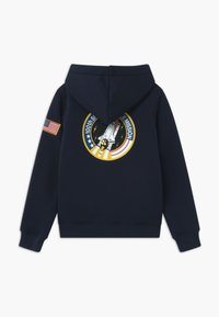 Alpha Industries - SPACE SHUTTLE HOODY KIDS TEENS - Hoodie - blue - 1