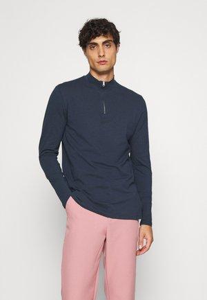 THEO ZIPPER - Longsleeve - navy blazer