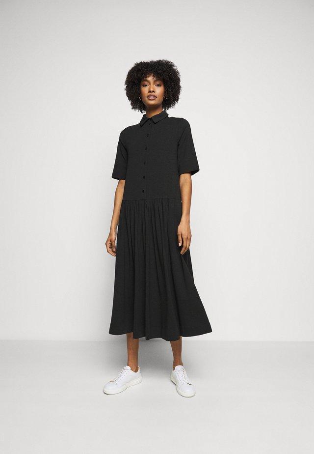 CECI - Jerseykjole - schwarz