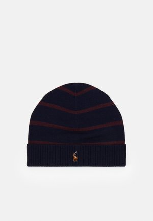 APPAREL ACCESSORIES HAT UNISEX - Čepice - navy