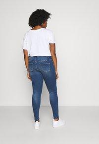 Zizzi - JPOSH NILLE SLIM - Jeans Skinny Fit - blue denim - 2