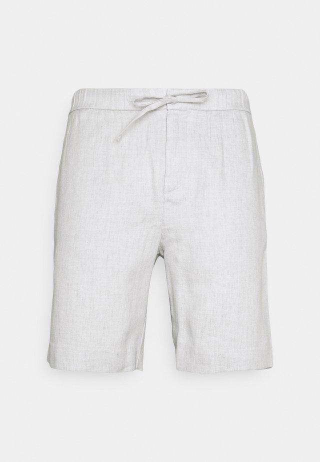 SPORT BLOCK - Short - light melange grey