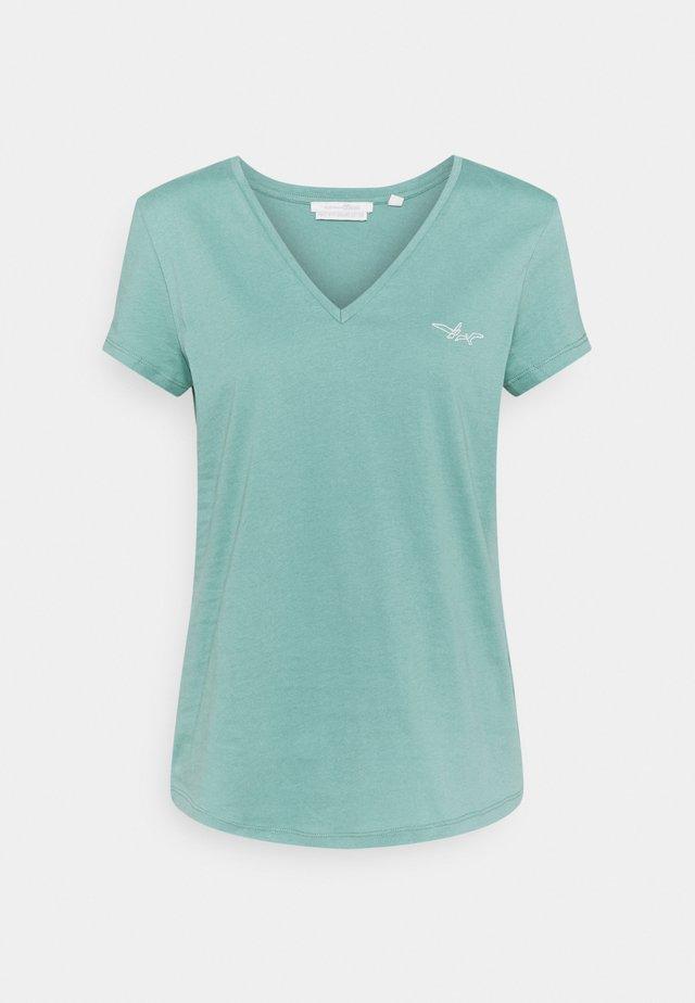 T-shirt basique - mineral stone blue