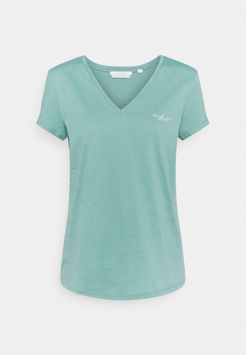 TOM TAILOR DENIM - Basic T-shirt - mineral stone blue