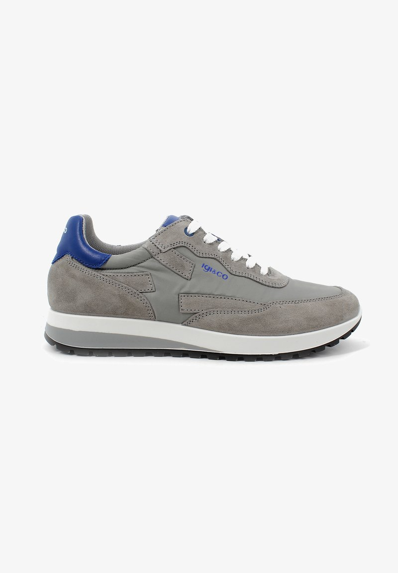 IGI&CO - URO - Sneakers basse - grey/dark blue