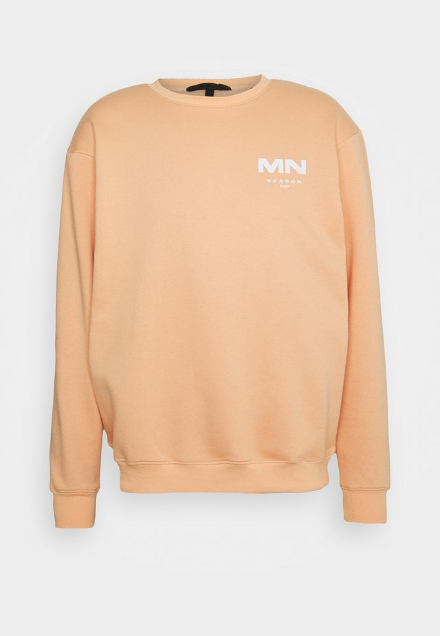 AFTERMATH SEASON 2021 REGULAR UNISEX - Sweatshirts - peach