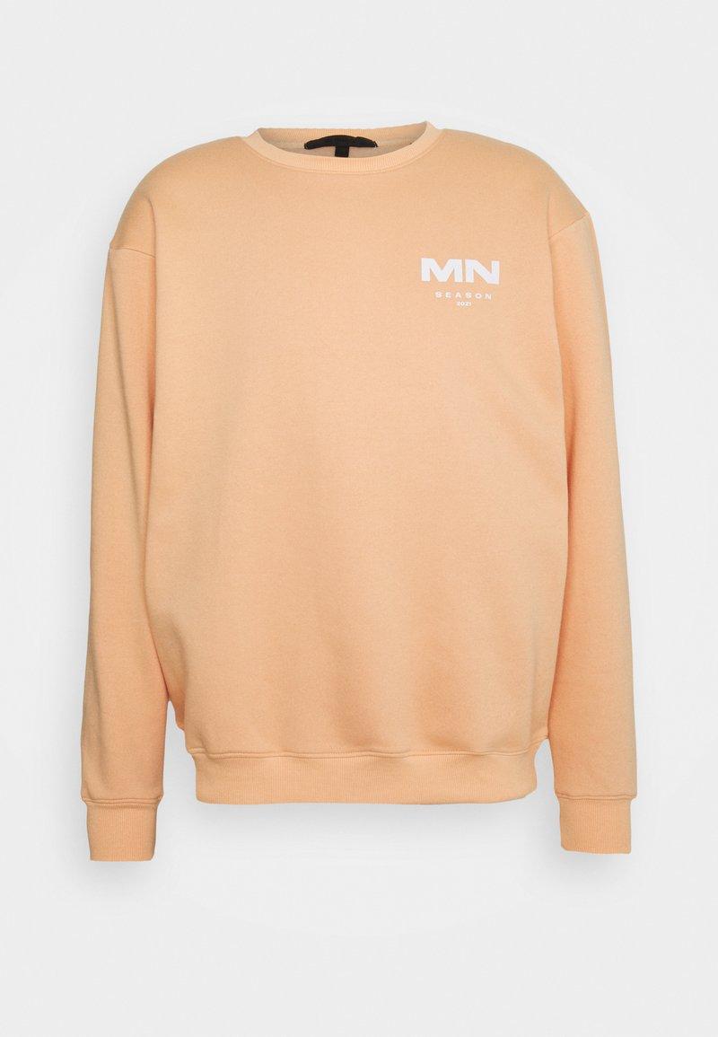 Mennace - AFTERMATH SEASON 2021 REGULAR UNISEX - Sweatshirt - peach