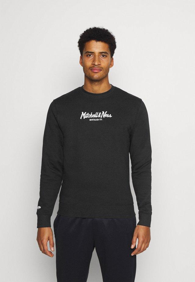 PINSCRIPT CREW - Sweatshirt - black