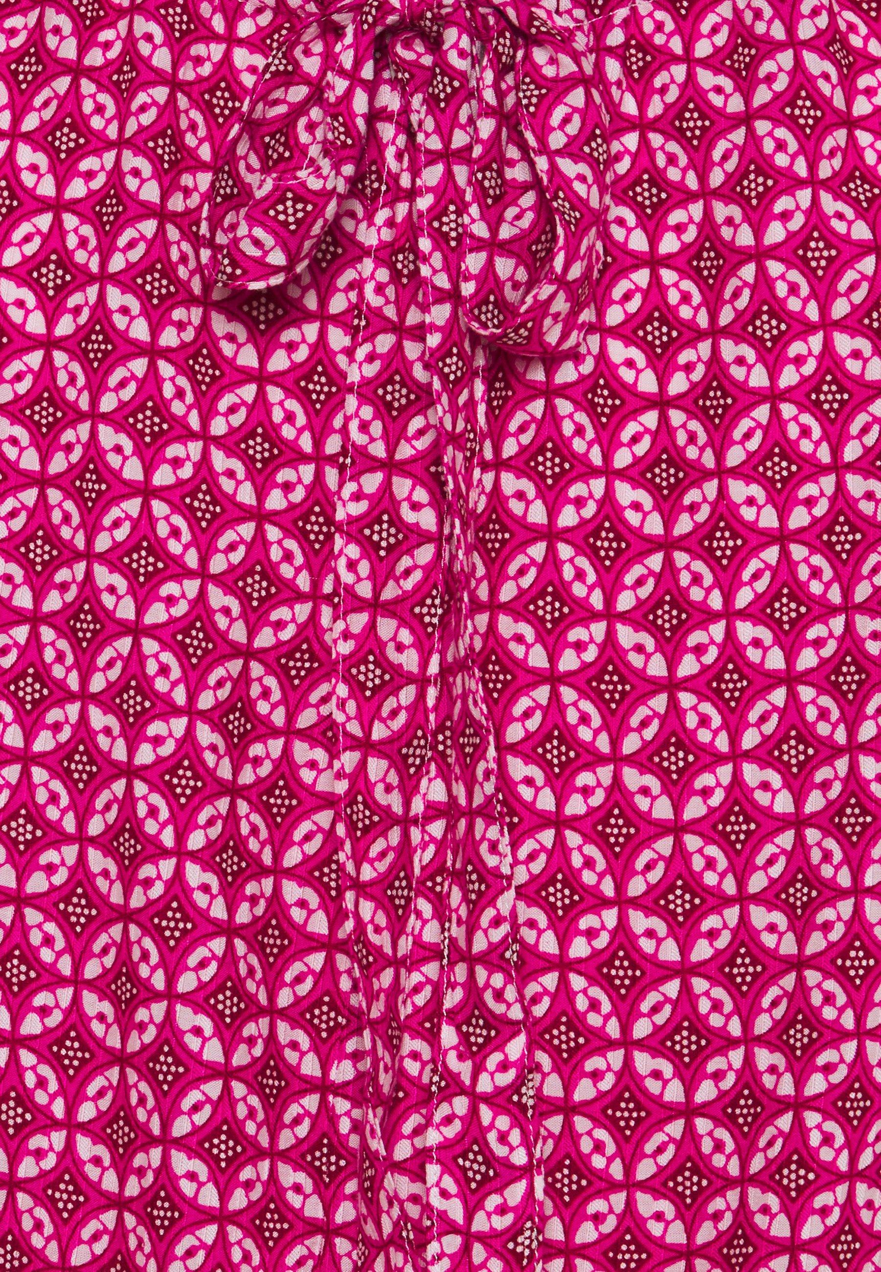Gap Tie Back - Bluser Pink Print