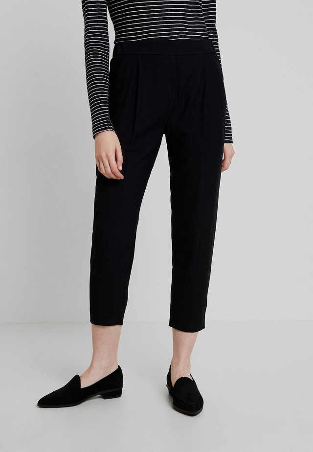 ALEIDA TROUSER - Trousers - black