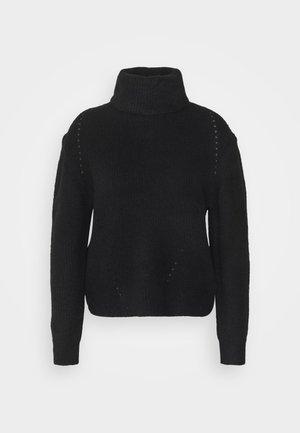 ROLL - Strikpullover /Striktrøjer - black