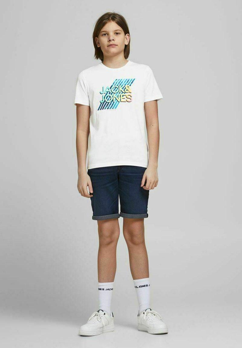 Jack & Jones Junior - Print T-shirt - white