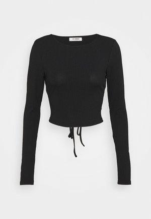 JAYDEN - Camiseta de manga larga - black