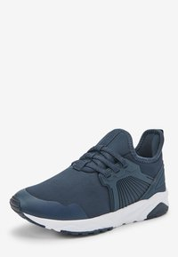 Next - NAVY ELASTIC LACE TRAINERS (OLDER) - Trainers - blue - 2