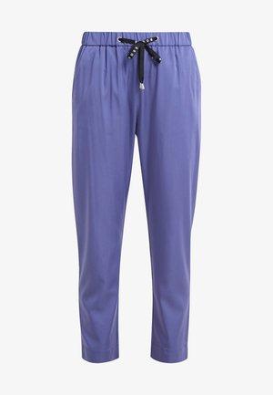 SATENCY - Trousers - dark purple