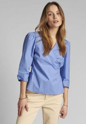 NUCHERIE - Blouse - wedgewood