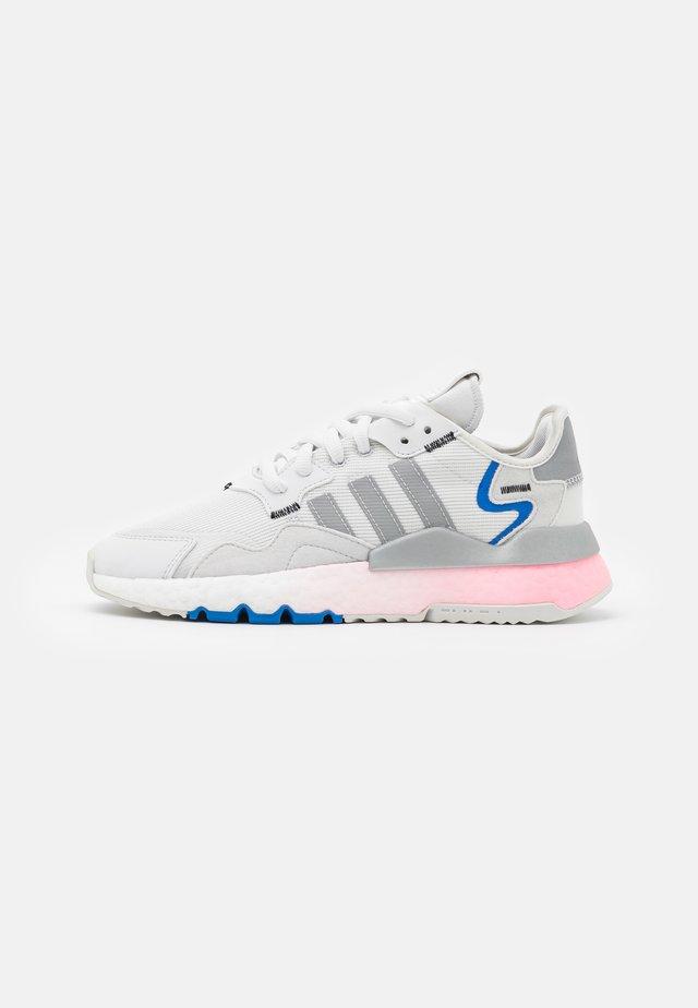 NITE JOGGER  - Sneakers basse - crystal white/silver metallic/glory blue