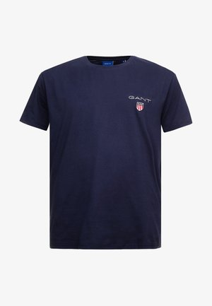 MEDIUM SHIELD - T-shirt basic - evening blue