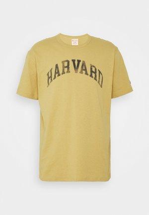 HARVARD UNIVERSITY CREWNECK - Print T-shirt - beige