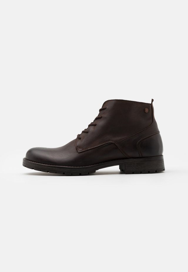 JFWORCA  - Lace-up ankle boots - stone