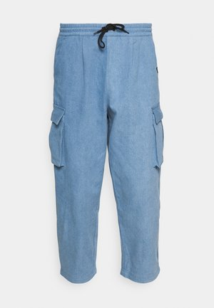 BAGGY CARPENTER TROUSERS - Spodnie materiałowe - light denim