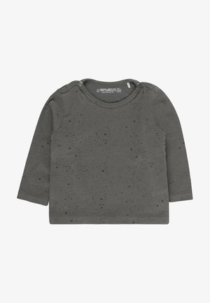 JIP2 - Longsleeve - stone grey / off white