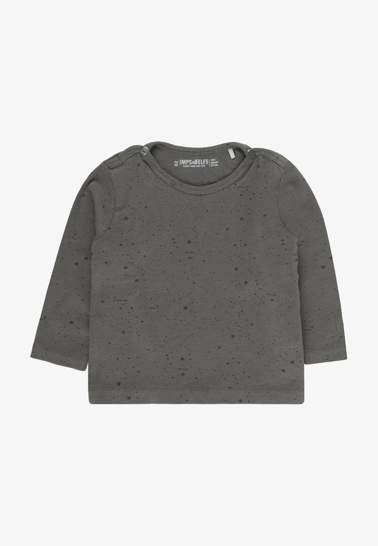 Imps&Elfs - JIP2 - Long sleeved top - stone grey / off white