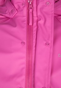 CeLaVi - RAINWEAR SUIT BASIC SET WITH FLEECE LINING - Kalhoty do deště - real pink - 4